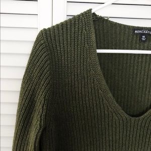 J Crew Factory Heather Pullover Sweater